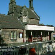 Grade 2 listed station at Cheddleton